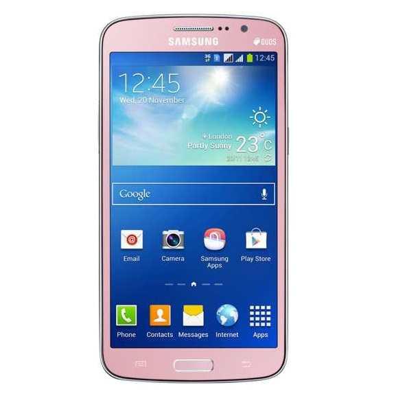 Samsung Galaxy Grand 2 Duos SM-G7102 Désimlocké - Rose (Version Anglaise)