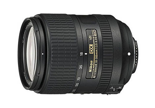 Nikon AF-S DX NIKKOR 18-300mm f/3.5-6.3G ED VR Lenses