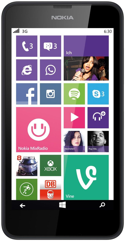 Nokia Lumia 630 Dual Sim 3G SIM FREE/ UNLOCKED - Black
