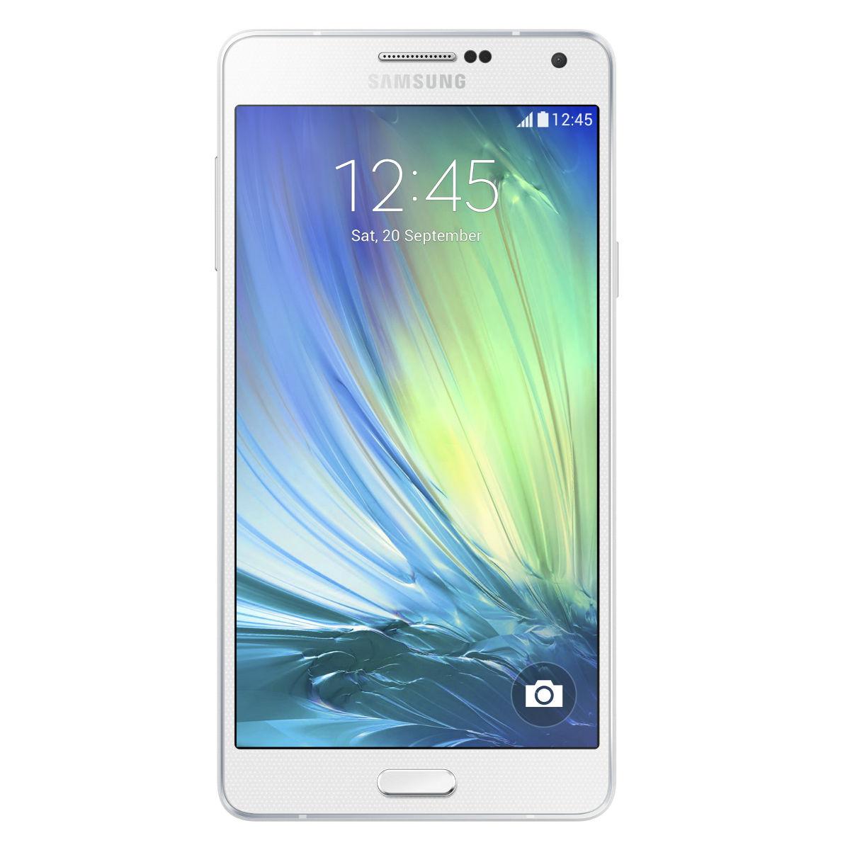 Samsung Galaxy A7 A700YD Dual Sim 4G 16Go Désimlocké - Blanc