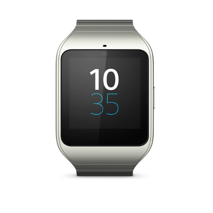 Sony Smart Watch 3 Montre Connectée SWR50 (Bracelet en Métal) - Argent
