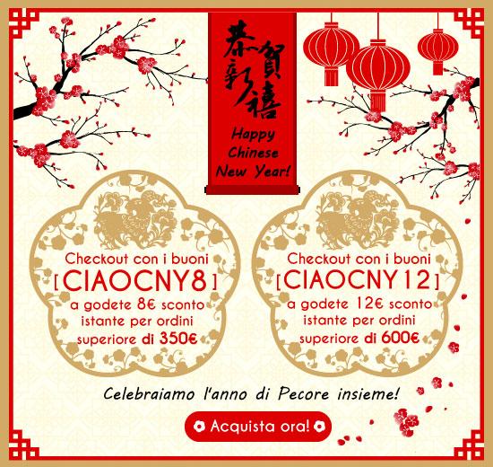 festeggiare il Capodanno Cinese
