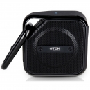 TDK A12 Life on Record TREK Micro NFC Bluetooth Wireless Portable Speaker - Black
